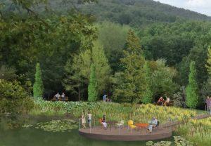 Lago Tenuta dei Ciclamini - Render